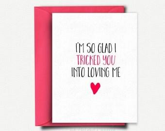 Funny anniversary card card for boyfriend love card card valentine card funny valentines day card for boyfriend love card for him anniversary card m4hsunfo Gallery