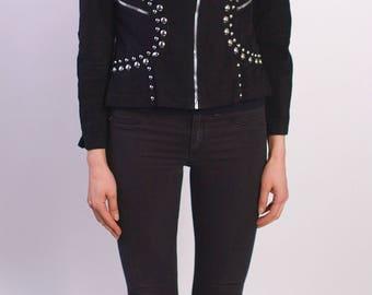 Roncelli Vintage 1970s Studded Jacket