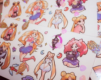 Sailor Moon cute stickers #14