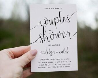 Couple shower invite Etsy