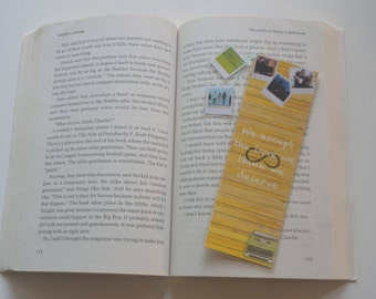 The Perks of being a wallflower Bookmark