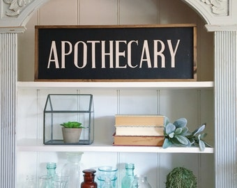 Zombie Bathroom Signs apothecary sign | etsy
