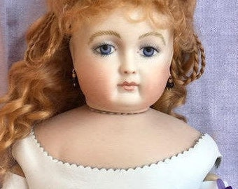Antique Rohmer Artist Reproduction Miss Adele