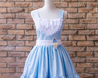 Sweet Caroline Lolita Style JSK & Bow, Three Colors, XS to 3X