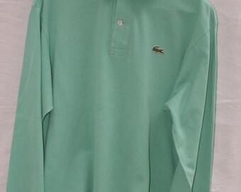 Vintage long sleeve Lacoste polo shirt
