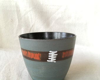 West Germany Flowerpot