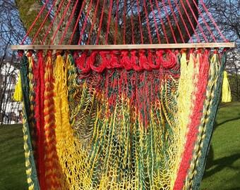 Handmade Mexican Mayan Chair Hammock
