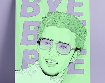Justin Timberlake 90's Portrait 'Bye Bye Bye'