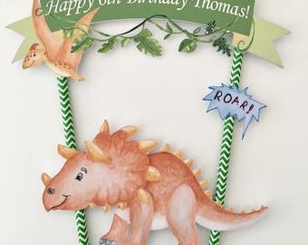 Dinosaur Cake Bunting