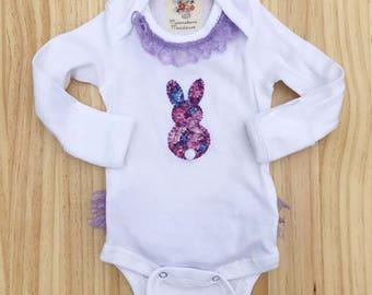 Rumba infant bodysuit+ Nylon Bow