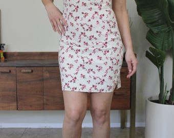 Rampage Vintage 90's floral party dress size Medium