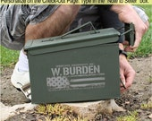 Christmas Gift for Dad Husband Gift for Men Ammo Box