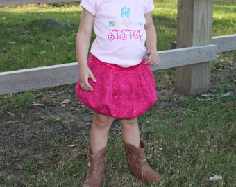 Little Sister Shirt - Little Sister Outfit - Little Sister Big Sister - Little Sister Big Sister Outfits