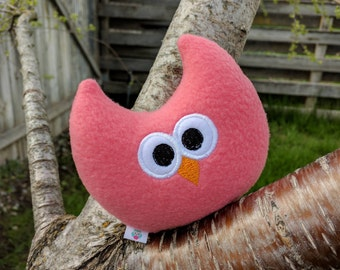Stuffed Owl/Soft Owl Plushie/Room Decor/Baby Gift/Gift for Her/Comfort Toy/Quiet Plush Owl/Owl Plushie/Owl Toy for kids/Handmade Baby Toy