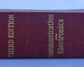 vintage Engineering book, Electrical Engineers' Handbook, 1947, Communications and Electronics, from Diz Has Neat Stuff