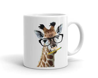 Giraffe Mug Etsy - What does this map tell us about african independence brainly