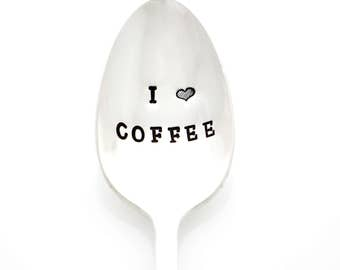 I Heart Coffee. Spoon for Coffee Lovers by Milk & Honey.