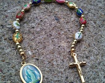 Cloisonne Single Decade Rosary