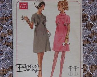 Vintage Butterick Sewing Pattern-1960's