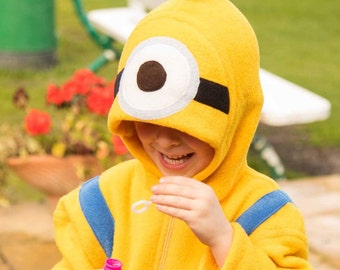 Children's minion onesie age 7-8 up to 11-12yr