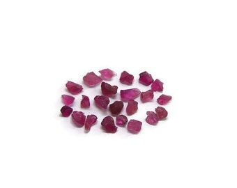 Raw pink tourmaline Rough Rubelite Rubellite Tourmaline clear top facet gemstone Crystals lot (3.05 ct) Semi Precious Gemstone (K.11)
