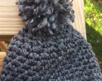 NEWBORN bobble or turban style hat