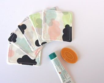 Pack of Washable Baby Wipes for Baby or Woman - Cloud