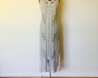 Maxi dress made in india