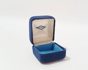 Engagement ring box velvet Etsy