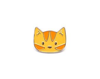 Cute Cat Enamel Pin - Ginger Cat