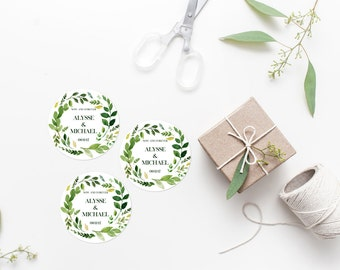 shop for wedding favor labels on etsy