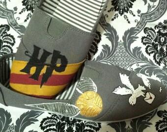 Handpainted Harry Potter Shoes