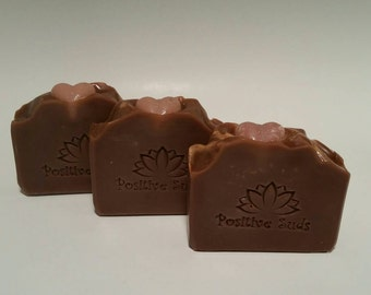 Black Amber and Lavender, Luxury Artisan Soap, Handmade, Soap, Positive Suds