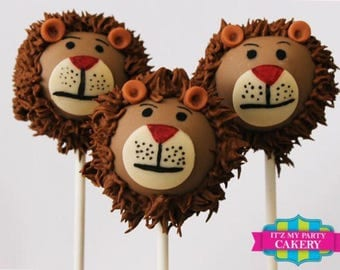 Lion Head Cake pops