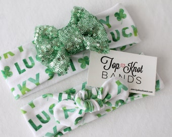 St Patricks Day Headband, TKB