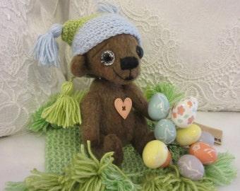 Bear  Bob - artist teddy bear, teddy bear OOAK