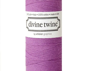 10m Purple Divine Twine Packaging Yarn String Baker Twine