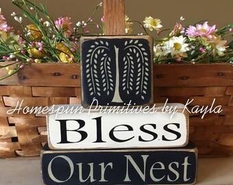 Bless Our Nest Block Set