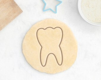 Tooth Cookie Cutter - Dentist Cookies Tooth Brush Tooth Paste Dental Surgery Favor  Dentist Teeth Mold Smile Cookie Cutter