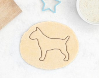 Bull Terrier Dog Cookie Cutter - Animal Cookie Cutter Bullterrier Custom Dog Treat Cookie Cutter Dog Lover Pet Gift - 3D Printed