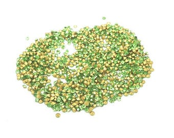 1440 rhinestones 2mm Green