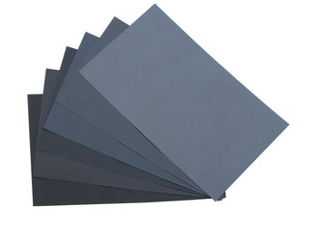 "9"" x 11"" 800 Grit Wet/Dry Sanding Paper - 10 Sheets Jewelry Making Ceramic Glass Stone Metal Finishing Abrasives - ABR-500.35"