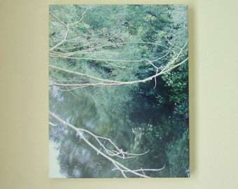 Photo Canvas, 'River Reflections' by Jessie Jones. 20 x 16 inches.