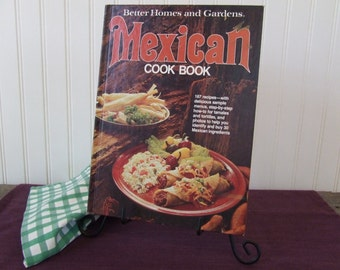 Mexican Cook Book, Better Homes and Gardens, Vintage Cookbook, 1977