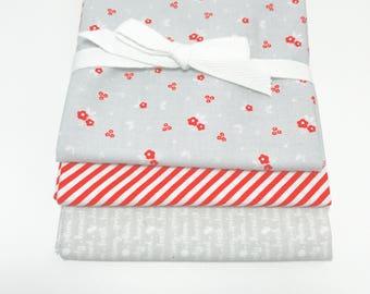 SALE!! Fat Quarter Bundle Sweet Orchard by Sedef Imer of Down Grapevine Lane for Riley Blake Designs -3 Fabrics