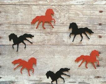 Mustang Horse Confetti