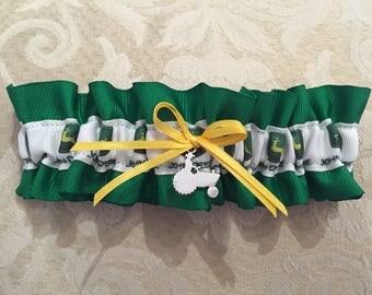 John Deere wedding garter