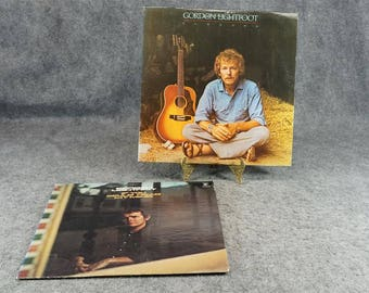 Gordon Lightfoot 2 Lp's If You Could Read My Mind And Sundown C. 1970S