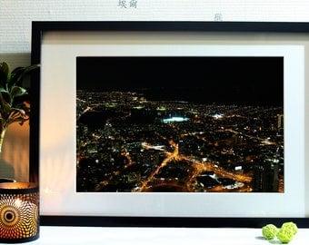 City of night photography