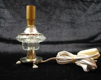 Vintage Scandinavian Design table lamp | glass desk lamps | Vintage item | Home Decor | Retro Table Lamp